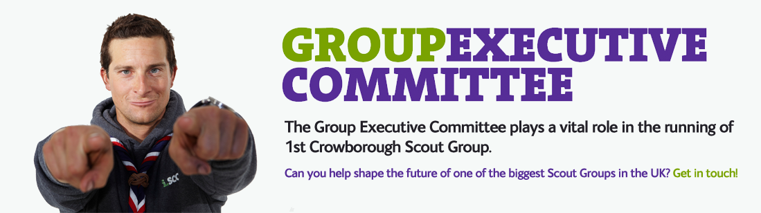 1st Crowborough Scout Group Executive Committee